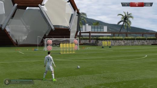 FIFA 15 Entrenando