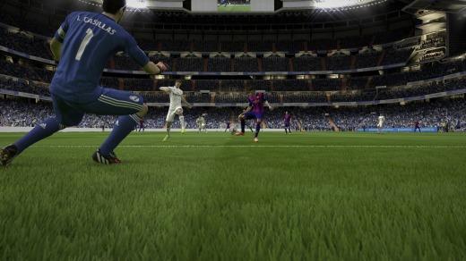 FIFA 15 Partido rápido (en los menús)