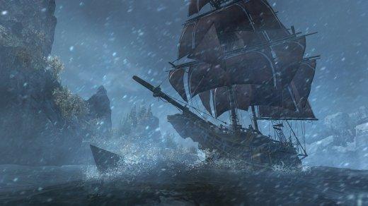 Las batallas navales son de lo mejor del juego. Sentirse como un pirata no tiene precio